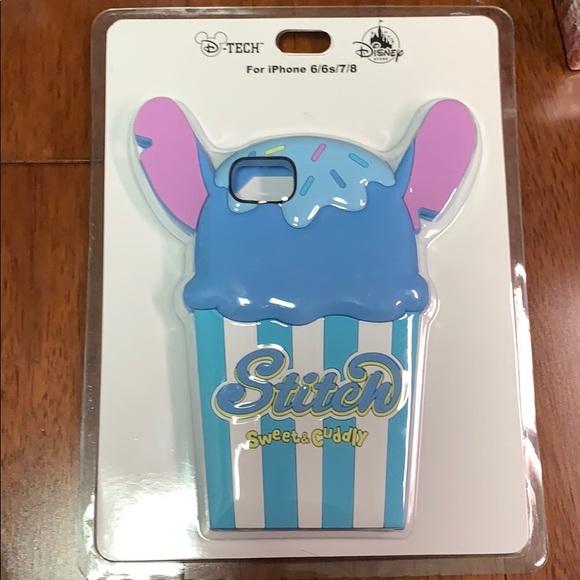 D-tech Stitch Blue Phone Case Cover